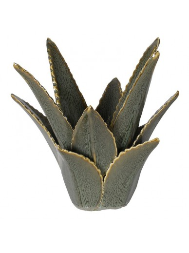 Aloe Vera Ceramic Candleholder
