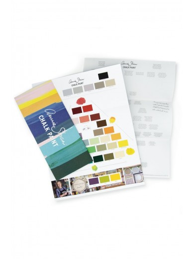 ANNIE SLOAN CHALK PAINT COLOUR CARD