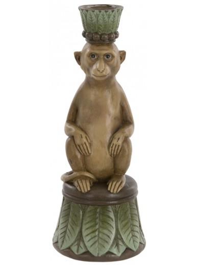 Monkey Candleholder