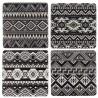 Tribal Pattern Coasters set of 4