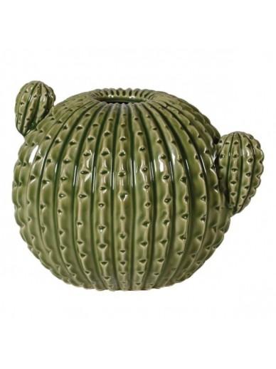 Green Ceramic Cactus