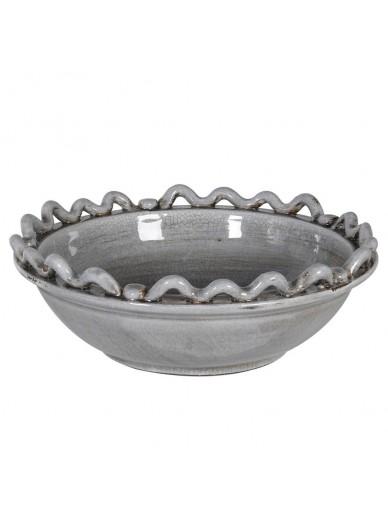 Grey Wave Bowl