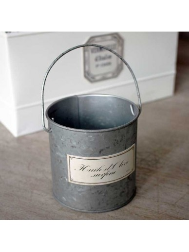Tin Candle Holder