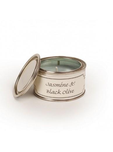 JASMINE & BLACK OLIVE FILLED TIN