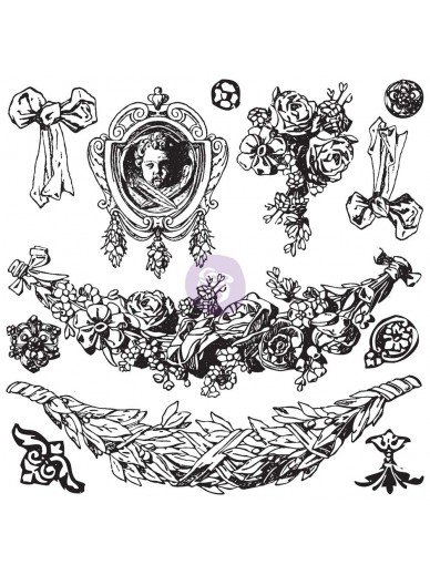 IOD DECOR STAMPS : SWAGS