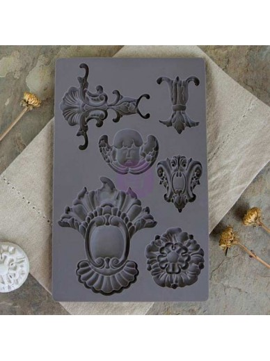 IOD Vintage Art Décor Mould - Baroque 2