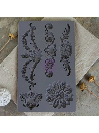 IOD Vintage Art Décor Mould - Baroque 3