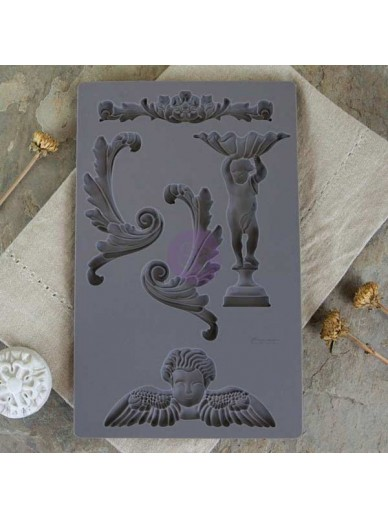 IOD Vintage Art Décor Mould - Baroque 5