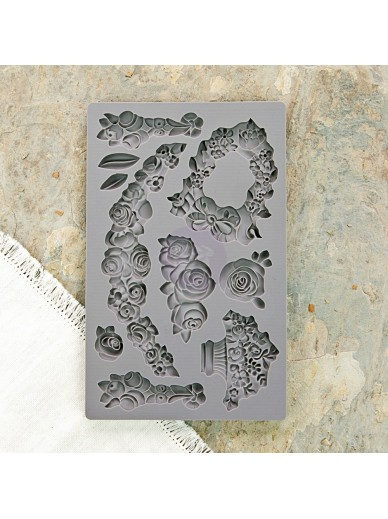 IOD Vintage Art Décor Mould : Fleur