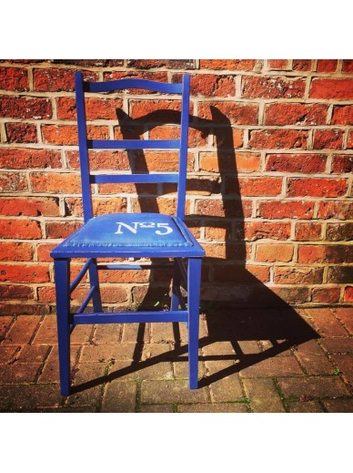 NAPOLEONIC BLUE CHAIR