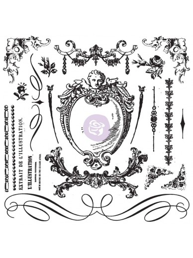 IOD DECOR STAMPS : Signage Ii