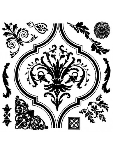IOD DECOR STAMPS : ARABESQUE