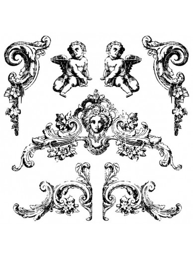 IOD DECOR STAMPS : TROMPE L'OEIL 2