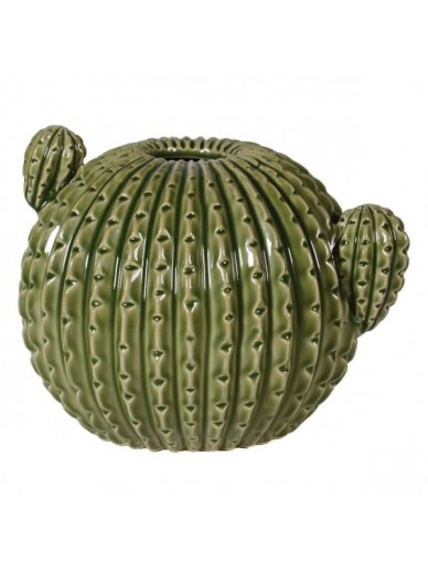 Green Ceramic Cactus