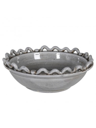 Grey Wave Bowl