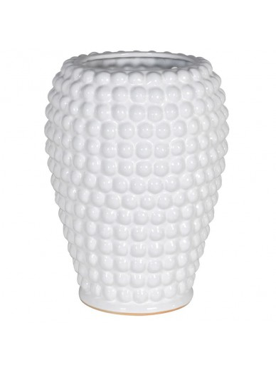 White Bobble Vase