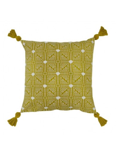 BOHO CHIA Cushion Ochre