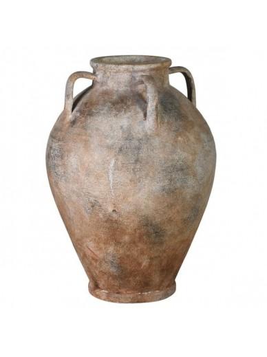 Rustic 4 Handled Vase / Vessel / Urn