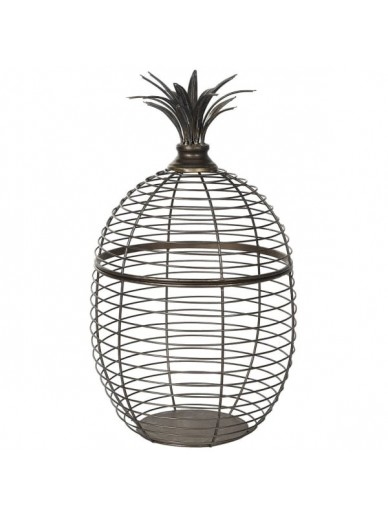 Large Wire Pineapple Basket