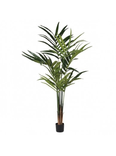 Large Green Faux Kentia Palm