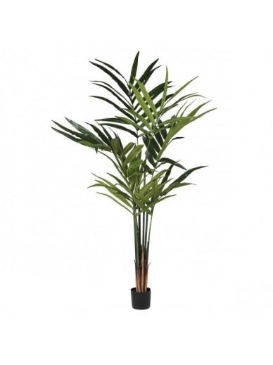 Large Green Faux Kentia Palm