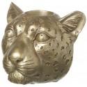 Gold Leopard Tealight Holder
