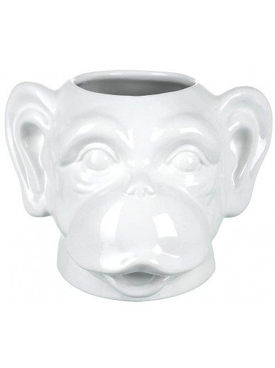 Charles the Chimp Head Planter