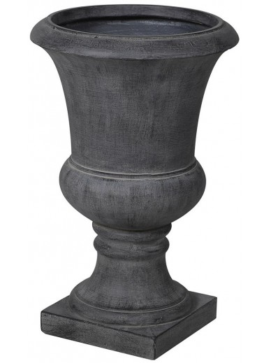 Large Grey Concrete Urn
