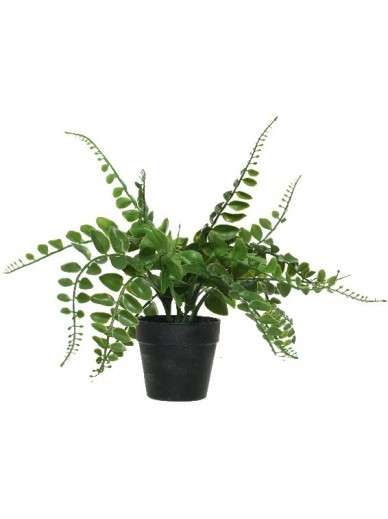 Artificial Potted Fern B