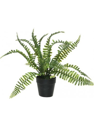Artificial Potted Fern C