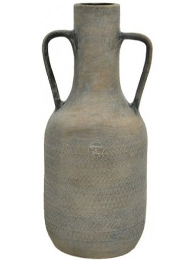 Black Wash Handmade Vase, 45cm