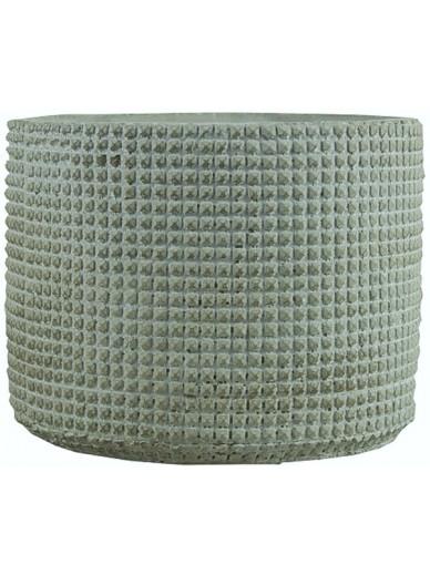 Grid Ridged Pot 13cm