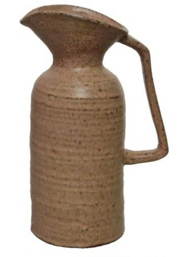 Rustic Stoneware Jug 24cm