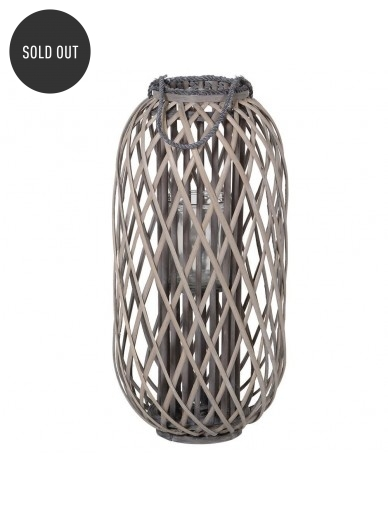 Grey Willow Lantern 72cm