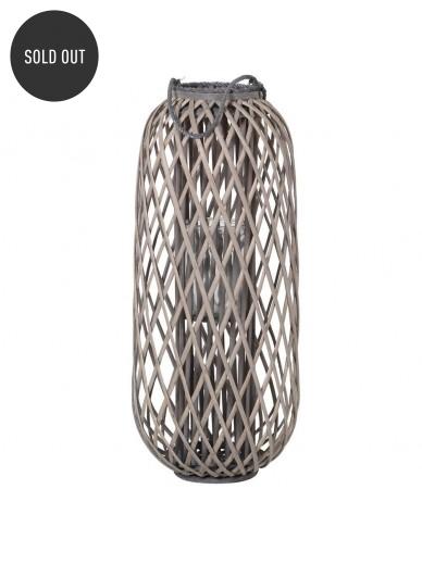 Grey Willow Lantern 90cm