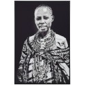 Tribal Woman Framed Picture